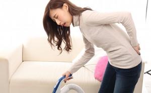 【腰痛】腰の痛みで家事ができない女性