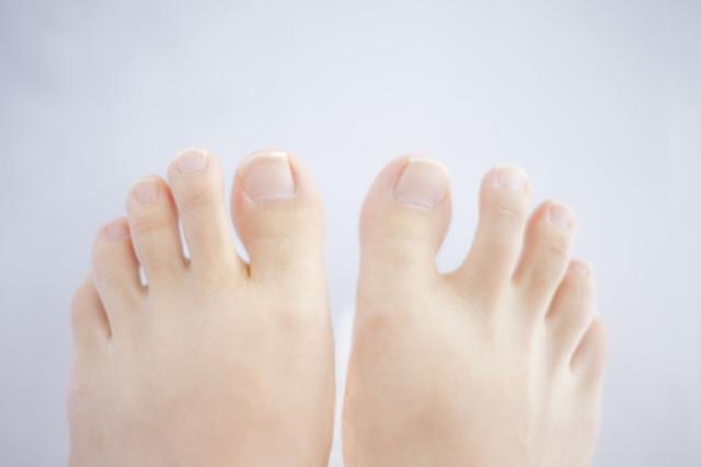 足の指のイラスト